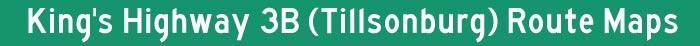Hwy 3B Tillsonburg Title Graphic