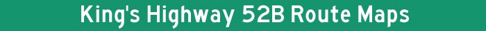 Hwy 52B Title Graphic