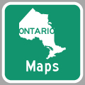 Hyperlink to Ontario Highway Route Maps Page