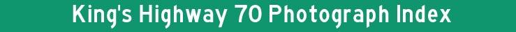 Hwy 70 Index