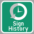 Hyperlink to History of Ontario King's Highway Signs Page
