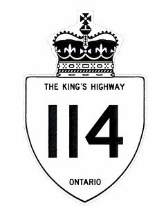 Ontario Highway 114 History - The King's Highways of Ontario