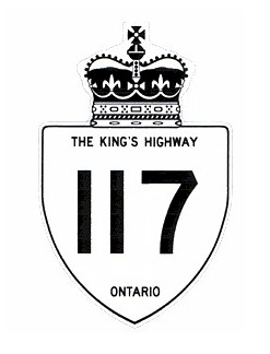 HWY 117 (#1) ROUTE MARKER