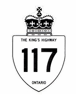 HWY 117 (#2) ROUTE MARKER