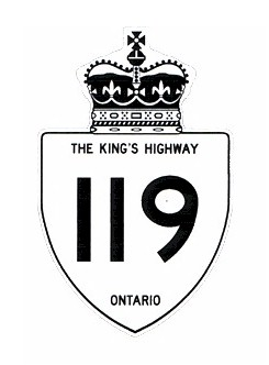 HWY 119 ROUTE MARKER