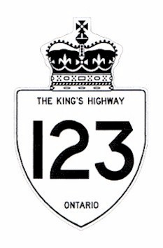 HWY 123 #2 ROUTE MARKER