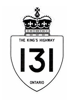 HWY 131 #1 ROUTE MARKER