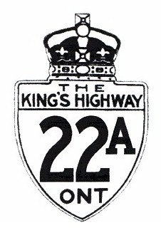HWY 22A ROUTE MARKER