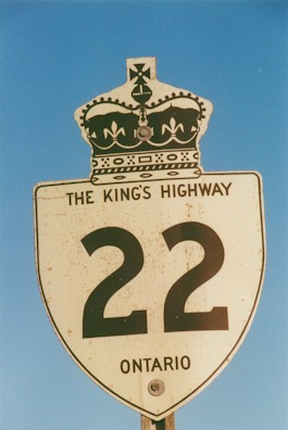 HWY 22 ROUTE MARKER - © Roger Fox
