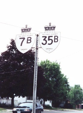 HWY 35B ROUTE MARKER
