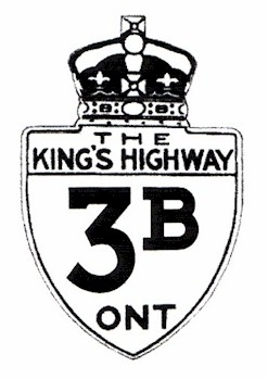 HWY 3B ROUTE MARKER