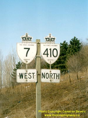 HWY 410 ROUTE MARKER -  © Cameron Bevers