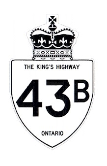 HWY 43B ROUTE MARKER