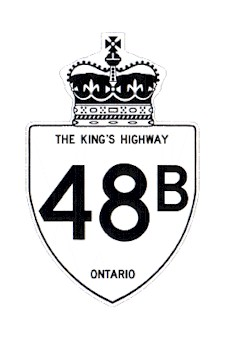 HWY 48B ROUTE MARKER