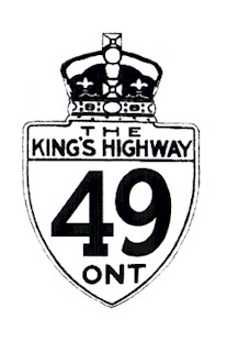 HWY 49 ROUTE MARKER