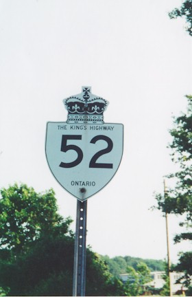 HWY 52 ROUTE MARKER - © Cameron Bevers