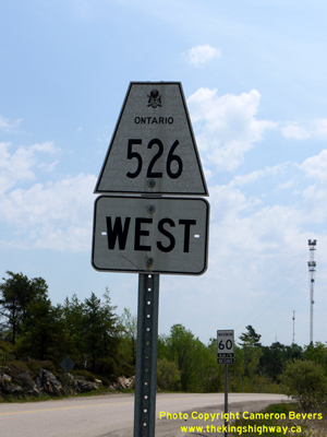 HWY 526 ROUTE MARKER - © Cameron Bevers