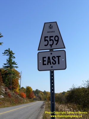 HWY 559 SIGN - © Cameron Bevers