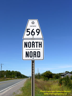 HWY 569 SIGN - © Cameron Bevers