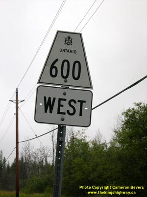 HWY 600 - © Cameron Bevers