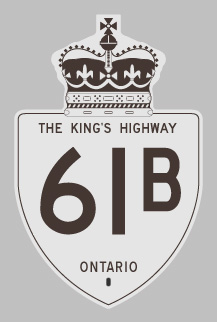 HWY 61B ROUTE MARKER