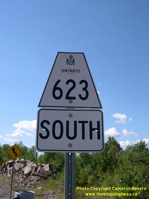 HWY 623 ROUTE MARKER - © Cameron Bevers