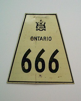 HWY 666 ROUTE MARKER - © Cameron Bevers