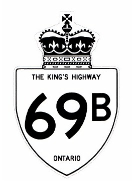 HWY 69B ROUTE MARKER