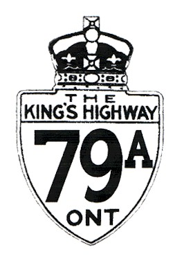 HWY 79A ROUTE MARKER - © Jamie Malecki