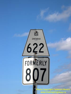 HWY 622 ROUTE MARKER - © Cameron Bevers