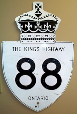 HWY 88 ROUTE MARKER - © Cameron Bevers