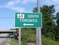 Hwy 69 Toronto - © Cameron Bevers
