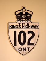 King's Hwy 102 Sign - © Cameron Bevers