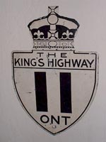 King's Hwy 11 Sign - © Scott Broady