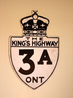 King's Hwy 3A Sign - © Cameron Bevers
