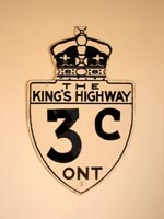 King's Hwy 3C Sign - © Cameron Bevers