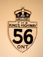 King's Hwy 56 Sign - © Cameron Bevers