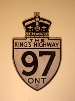 King's Hwy 97 Sign - © Cameron Bevers