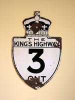 King's Hwy 3 Sign - © Cameron Bevers