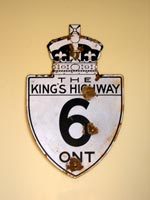 King's Hwy 6 Sign - © Cameron Bevers