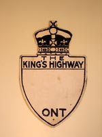 King's Hwy Prototype Sign - © Cameron Bevers