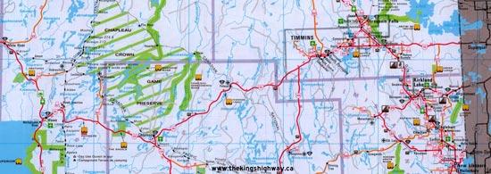 HWY 101 MAP
