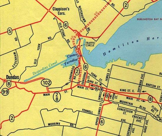 HWY 8D MAP