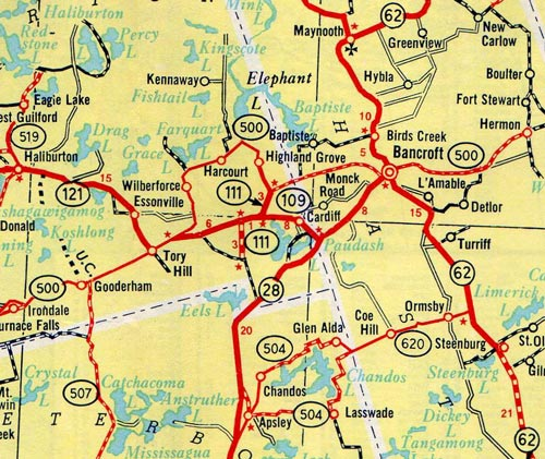 HWY 109 #2 MAP