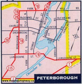 HWY 115 MAP - 1969