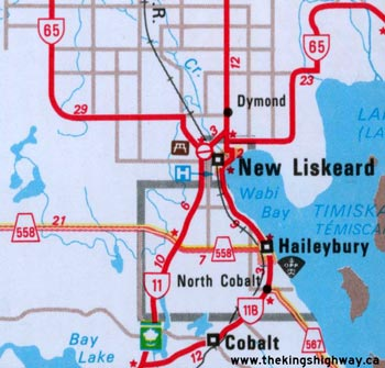 HWY 11B TRI-TOWN MAP