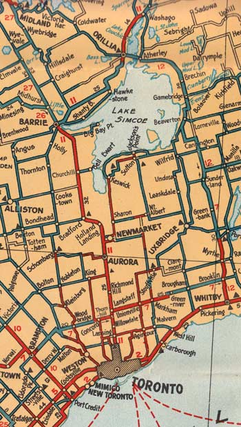 HWY 11 MAP - 1928