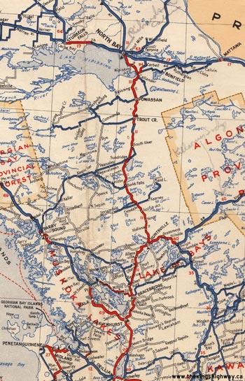 HWY 11 MAP - 1938