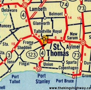 HWY 123 #1 MAP