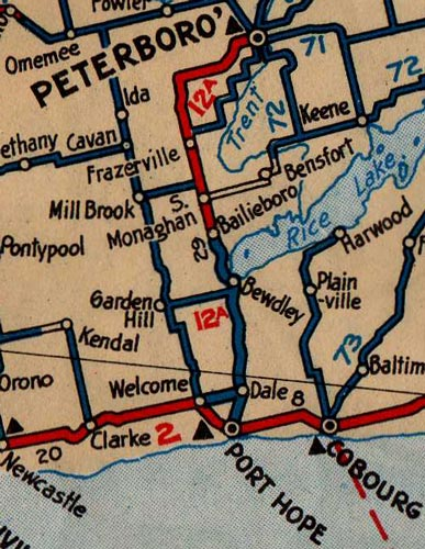 HWY 12A MAP